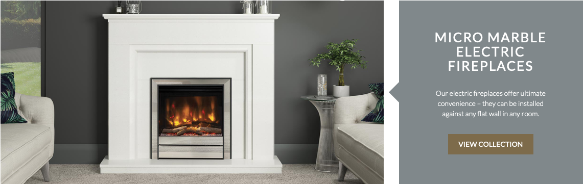 MICRO MARBLE ELECTRIC FIREPLACES