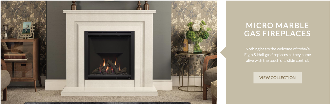 MICRO MARBLE GAS FIREPLACES